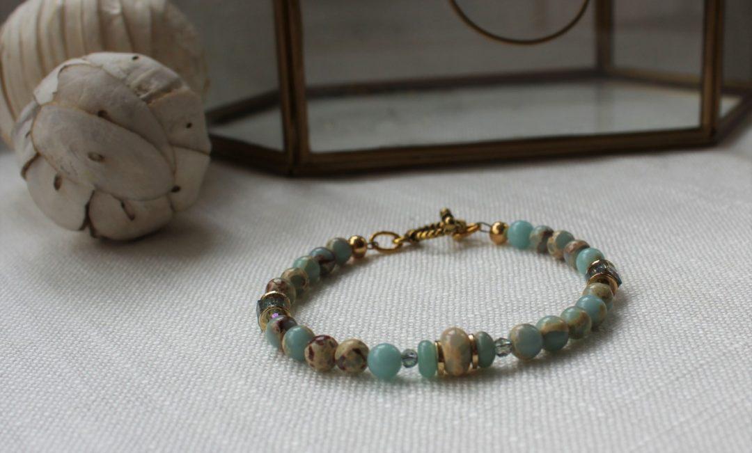 skinny gemstone bracelet 2