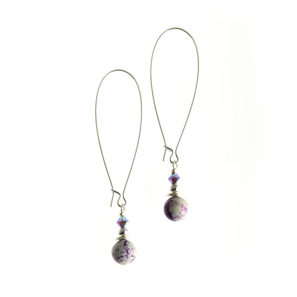 Whitehaven Petite Earrings - Long handmande