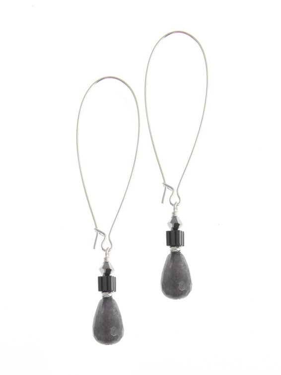 heavens gable teardrop earrings