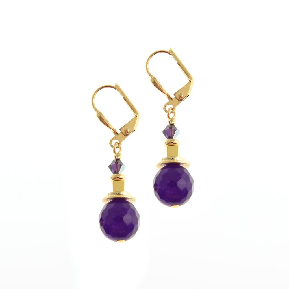 corcra linear earrings