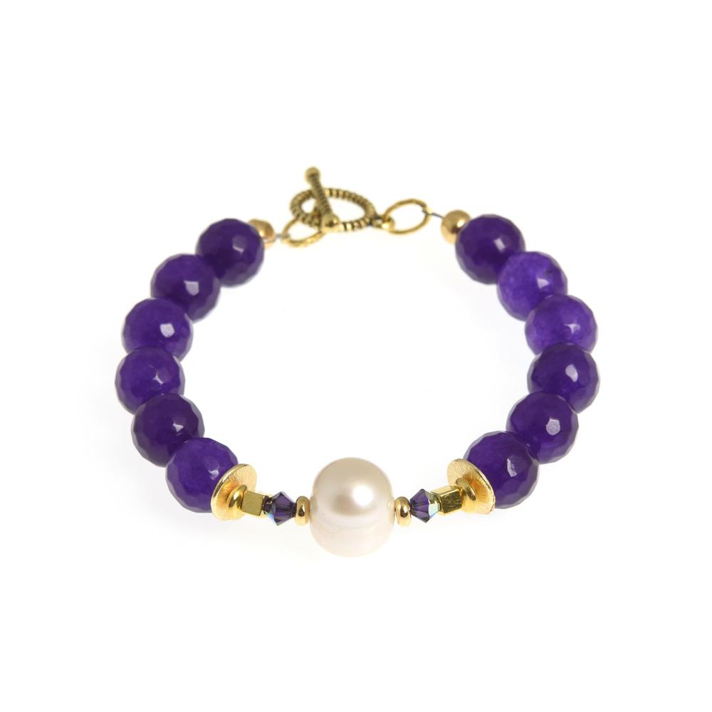 corcra linear bracelet
