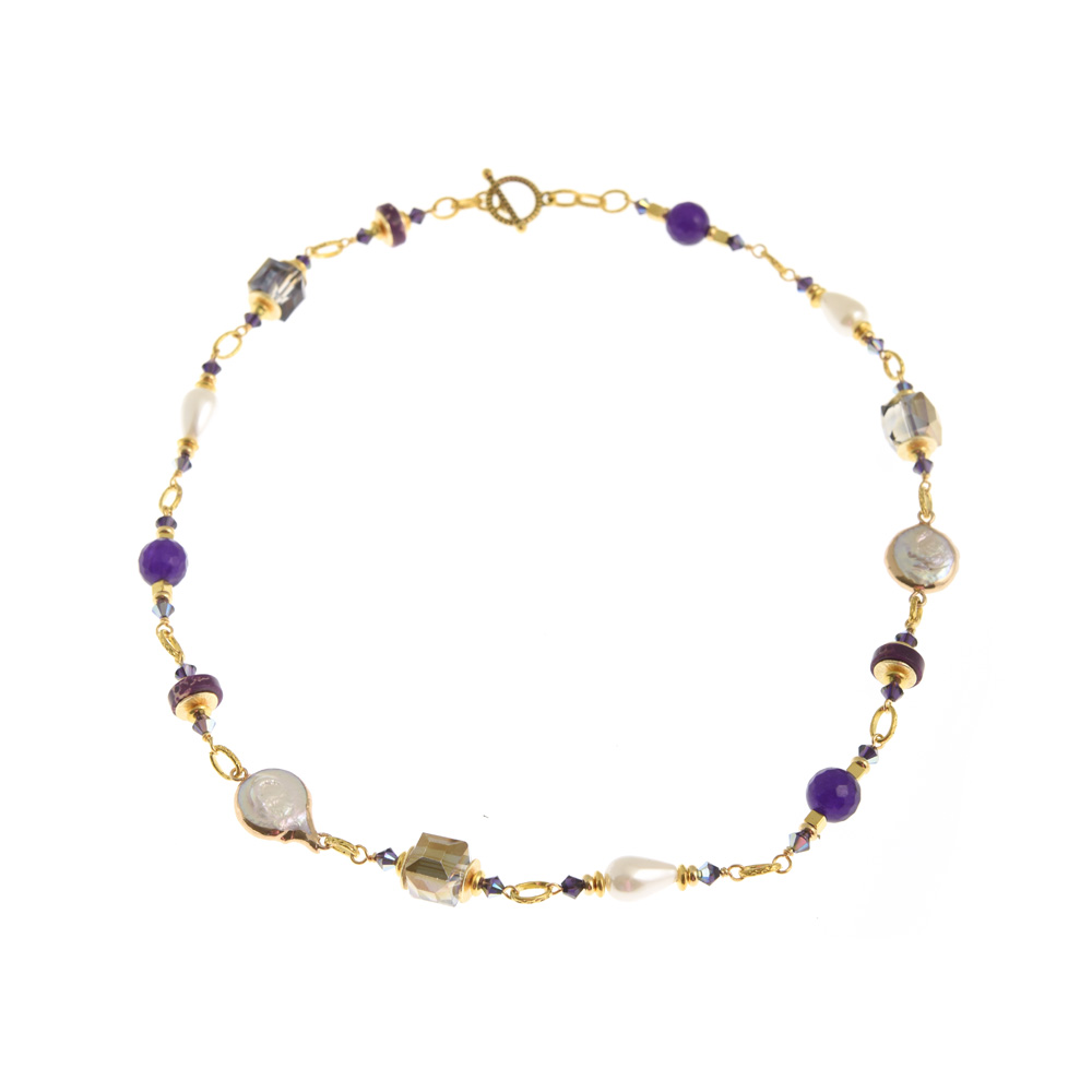 corcra link necklace