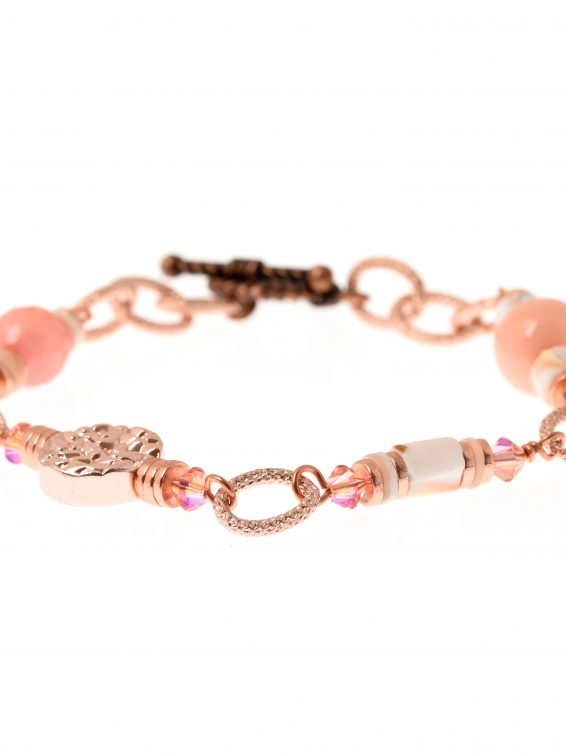 Flamant Link Bracelet