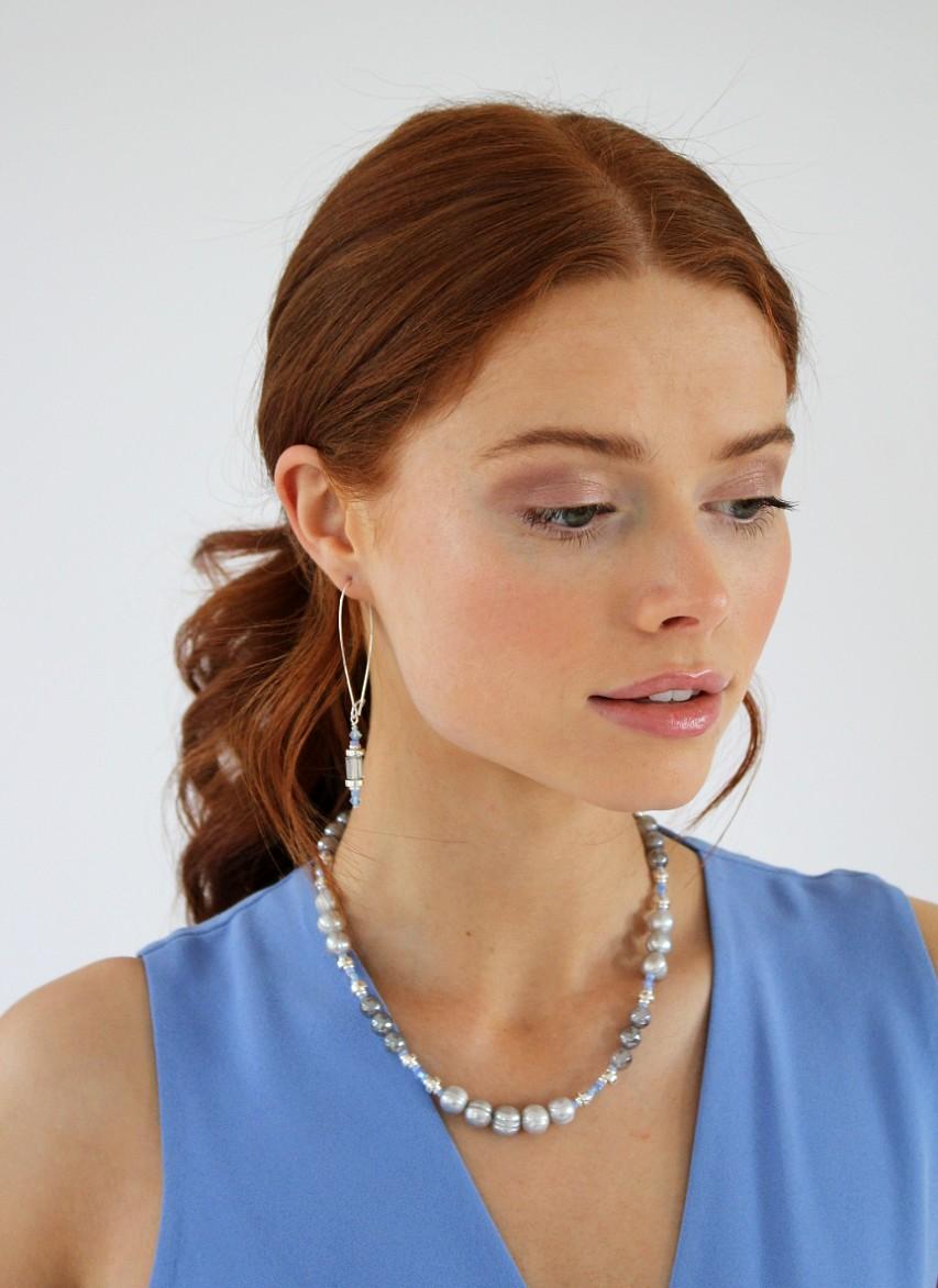 silvermines K Kajoux earrings