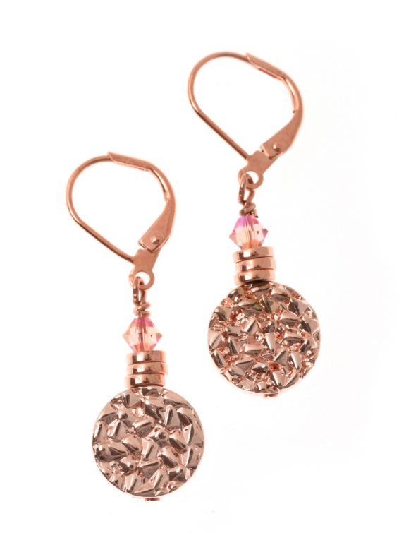 Flamant Disc Earrings Short