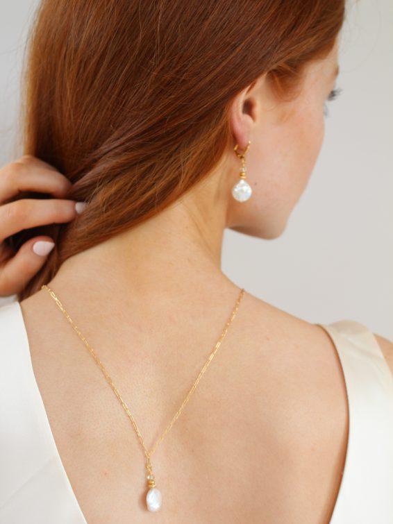 k kajoux pearl necklace